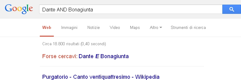 Google AND