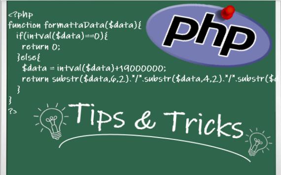 PHP: selezione di sottostringa (substr)