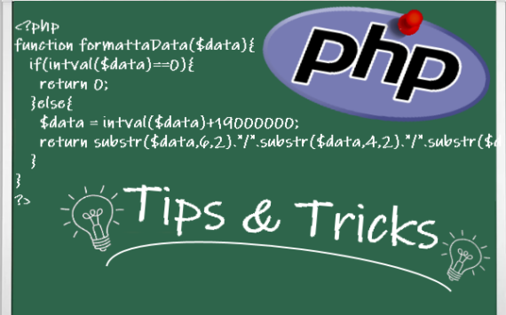 PHP: invertire una stringa (strrev)