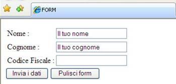 Bottoni HTML