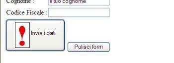 Il tag button HTML