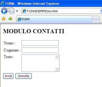 Form HTML